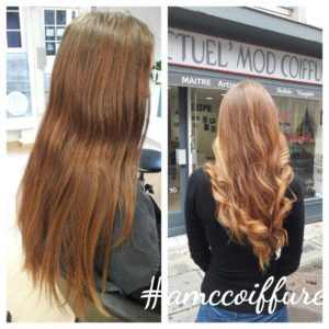 ombre hair doré